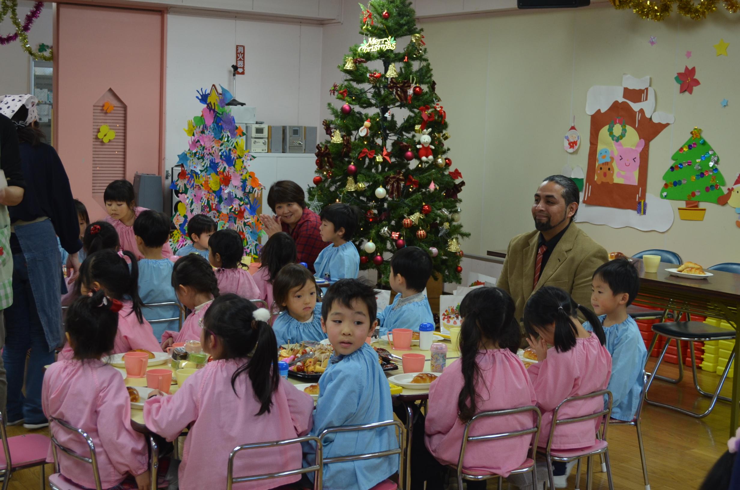 ~Merry Christmas~ クリスマス会&ランチバイキング