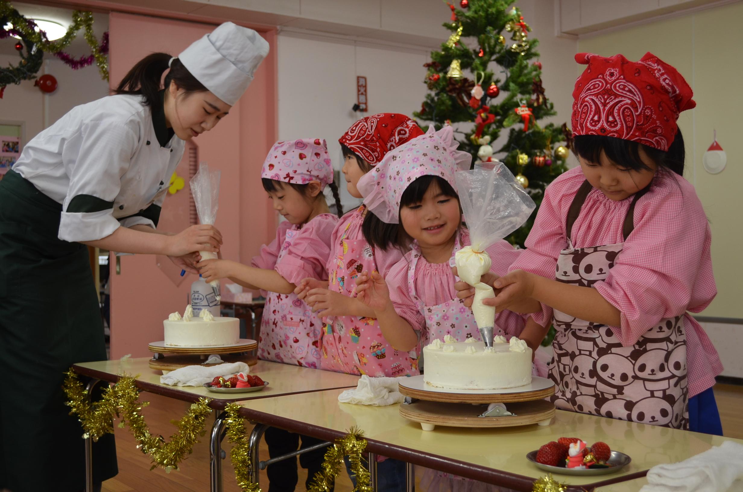 美味しかったね! ~ケーキ作り~