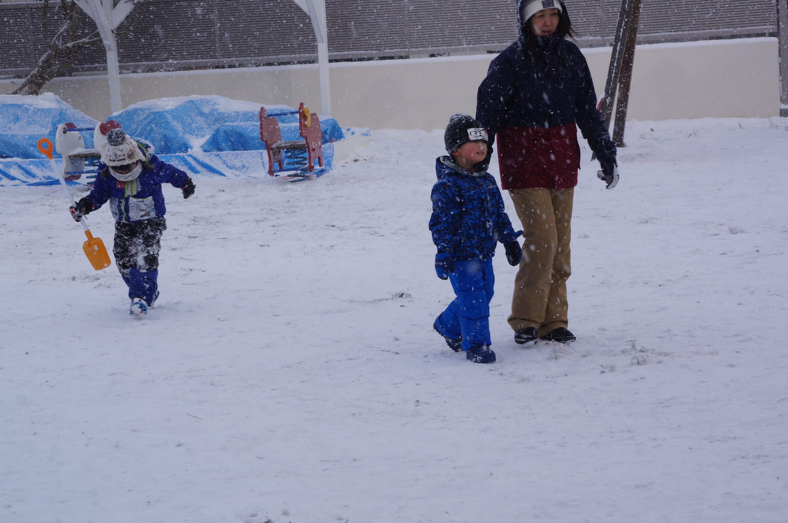 大好きな雪あそび 💖