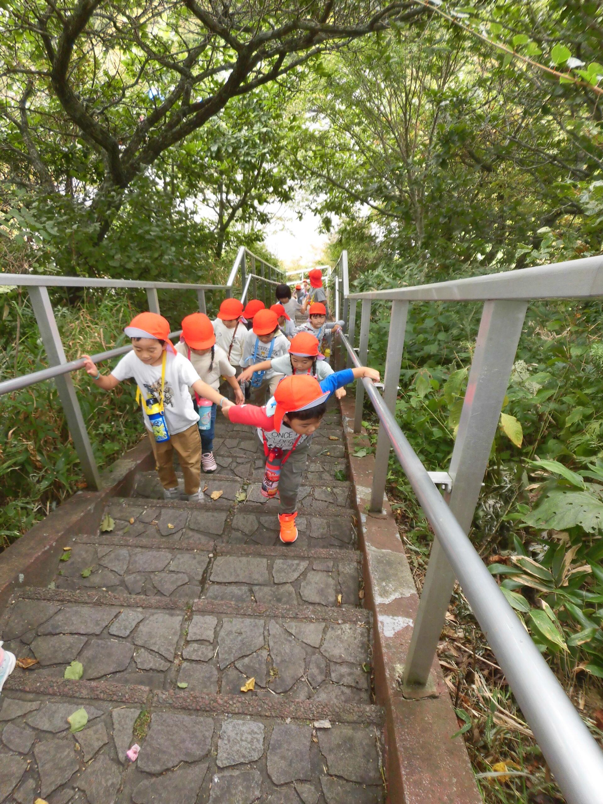2年ぶりの函館山登山 パート2(もうすぐ頂上編)