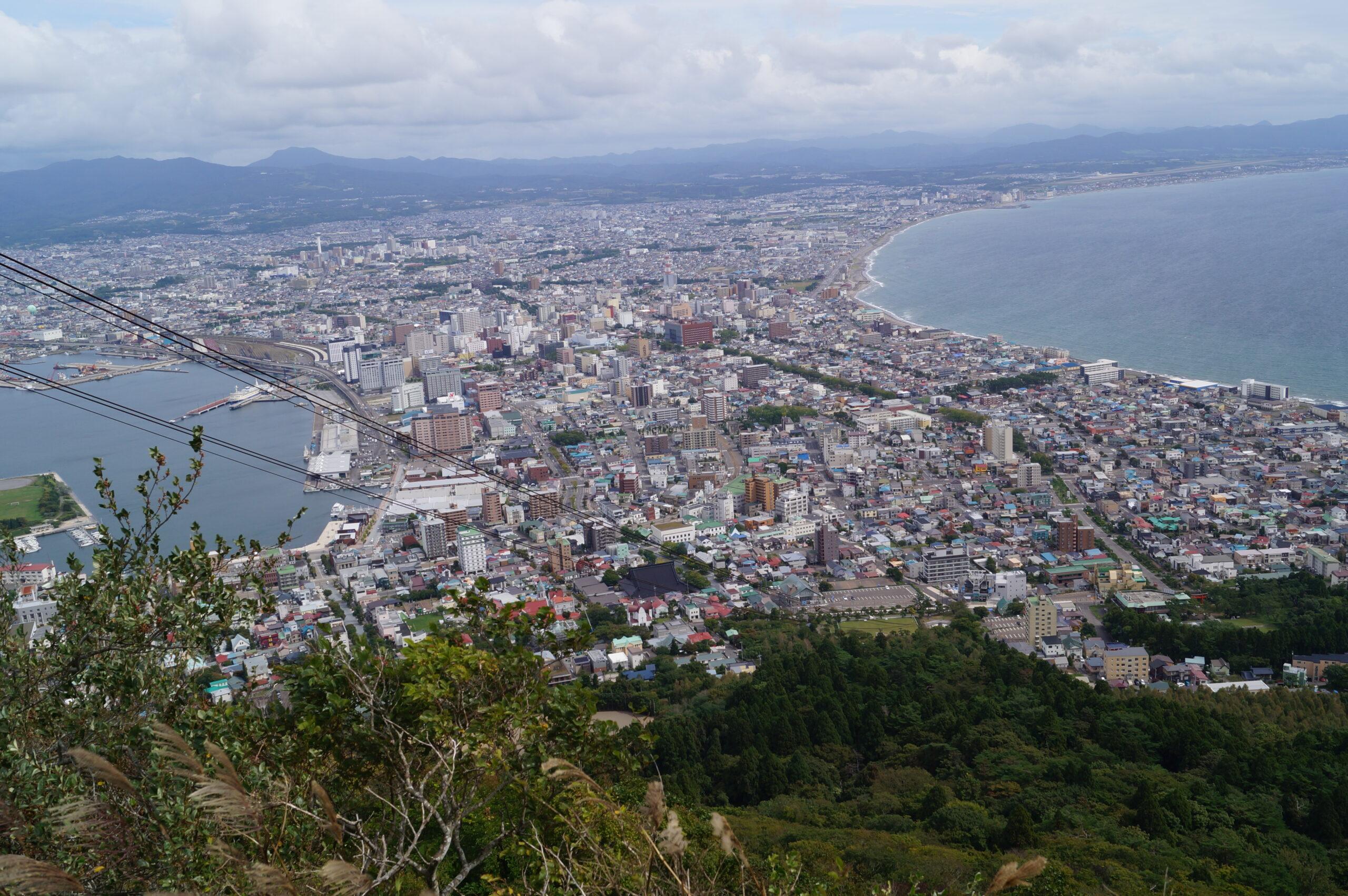 2年ぶりの函館山登山 パート3(満足の山頂編)